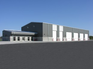 Idaho Falls Regional Airport Snow Removal Equipment Building