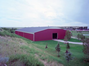 Wyoming Hereford Ranch Riding Arena