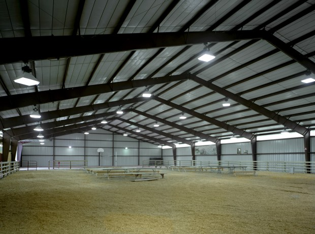 Wyoming Hereford Ranch Riding Arena Behlen Building Systems