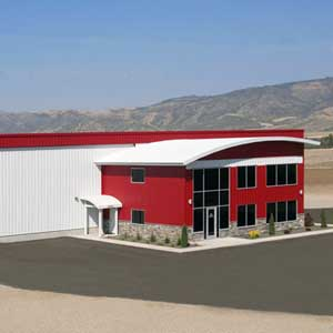 Behlen Curved Roof EagleSpan Building