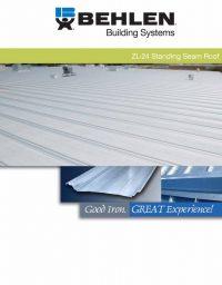 ZL-24 Standing Seam Roof Brochure