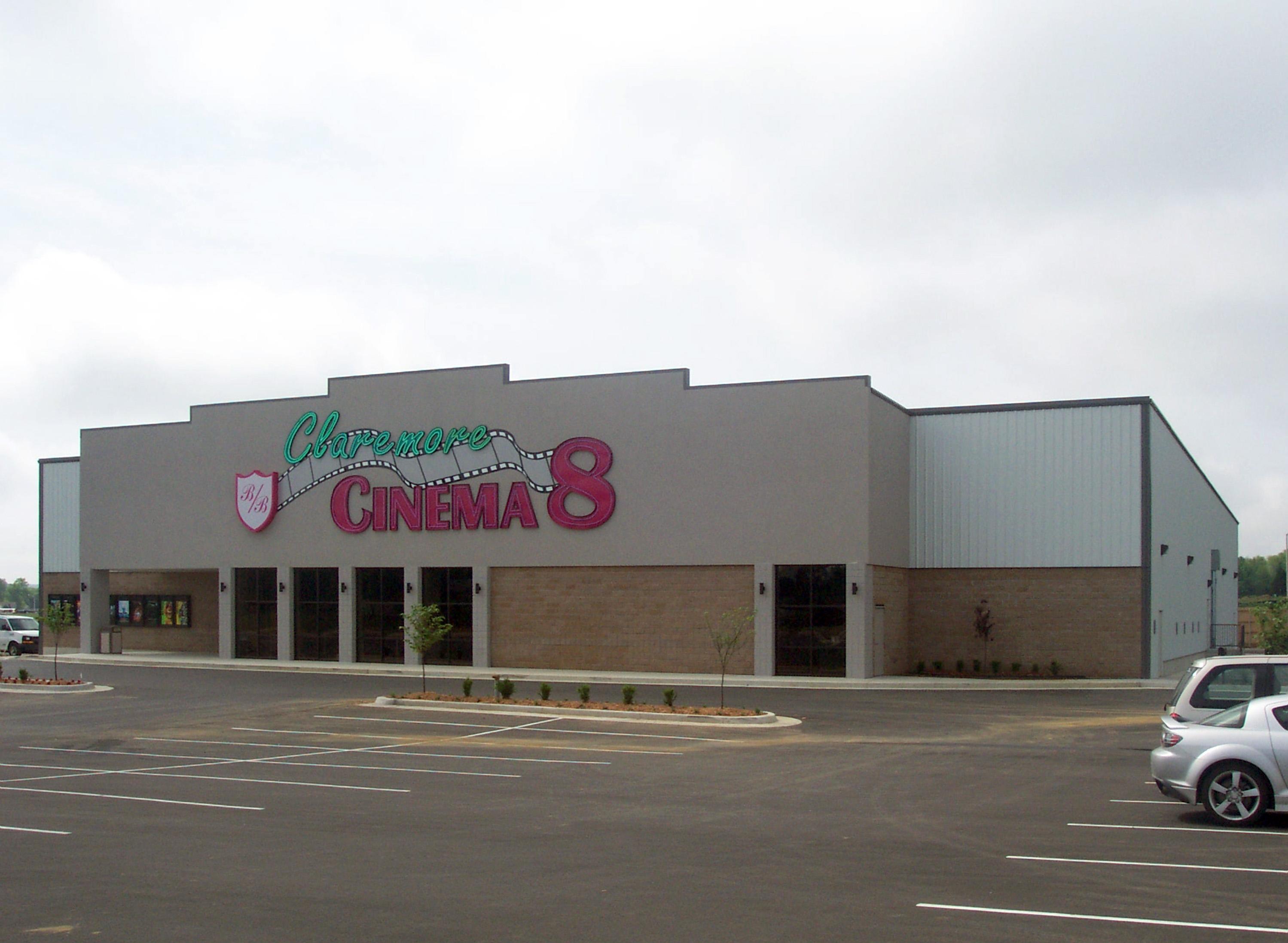 Claremore Cinema 8 – B&B Theatres