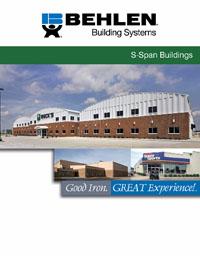Behlen S-Span Building Brochure