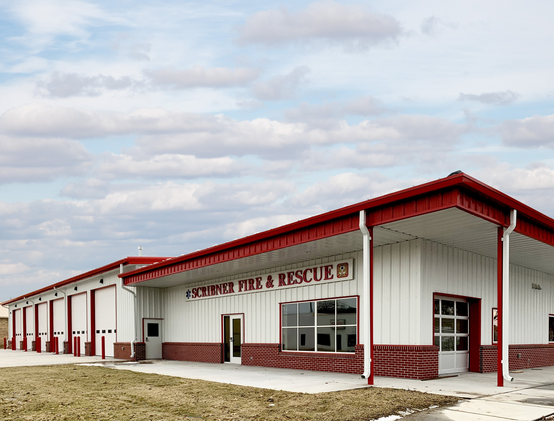 Scribner Fire Station